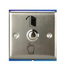 Hình ảnh Nút exit inox vuông EX002