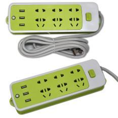 Mua Ổ Cắm Điện Đa Năng Tich Hợp 3 Cổng Sạc Usb Benhome Sạc Pin Smartphone Trực Tuyến
