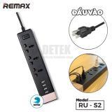 Giá Bán Ổ Cắm Điện Đa Năng Tich Hợp 4 Cổng Usb Remax Ru S2 Nhãn Hiệu Remax