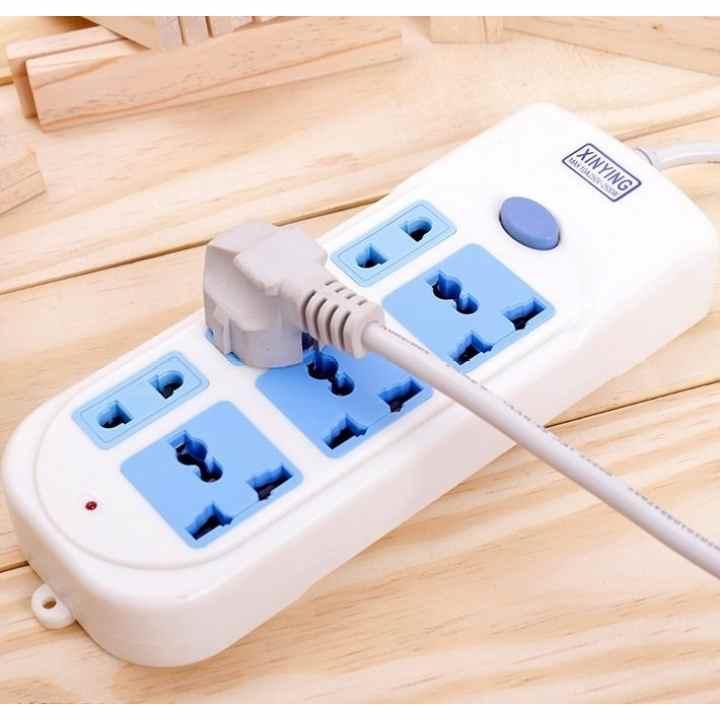 Ổ cắm điện Xinying XY-609 (Xanh dương)