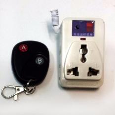Ổ cắm điều khiển từ xa 500W học lệnh kèm điều khiển (remote) bằng sóng Radio RF