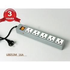 Ổ cắm nối dài DoBo U805  5 ổ cắm  16A 3 Mét