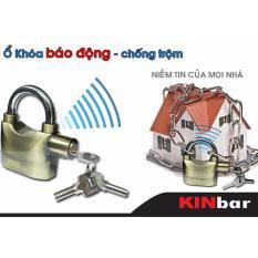 Ổ khóa chống trộm Kinbar thông minh( Vàng đồng)