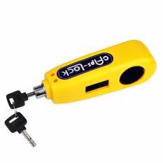 Ổ khóa chống trộm cho xe máy Caps Lock - khóa tay ga kết hợp tay phanh (Vàng) + Tặng thiết bị đầu vòi lọc nước sạch VegaVN