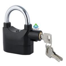 Ổ khóa chống trộm có còi báo động J 206510 1(đen) + Tặng 1 móc khóa da cao cấp 550. - Không thể rẻ hơn - Nhập Mã Voucher  GIATOTG90KM  để giảm 10-20%