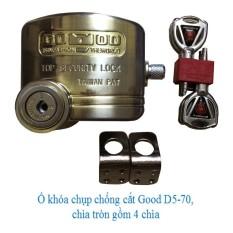 Ổ khóa cửa chống cắt toàn diện GOOD D5-70 - Chống cắt pad cửa và gọng khóa.