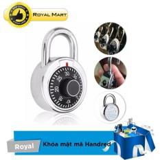 Hình ảnh Ổ khóa mật mã chống trộm Hardened (Bạc)
