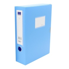 Mua OH Casual Simple UMI 75MM W02003B PP Durable File Folder Box For Document Blue - intl