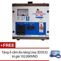 Cửa Hàng Ổn Ap Lioa 1P Sh 5Kva Sh 500 Tặng Ổ Cắm Đa Năng Lioa 3D3S32 Rẻ Nhất