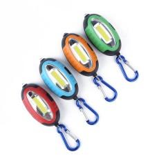 Hình ảnh Outdooors COB LED Móc Khóa Đèn Làm Việc Đèn Mini Bỏ Túi Đèn Pin Tiền Phát Hiện Tiền Với Caro Cam-quốc tế
