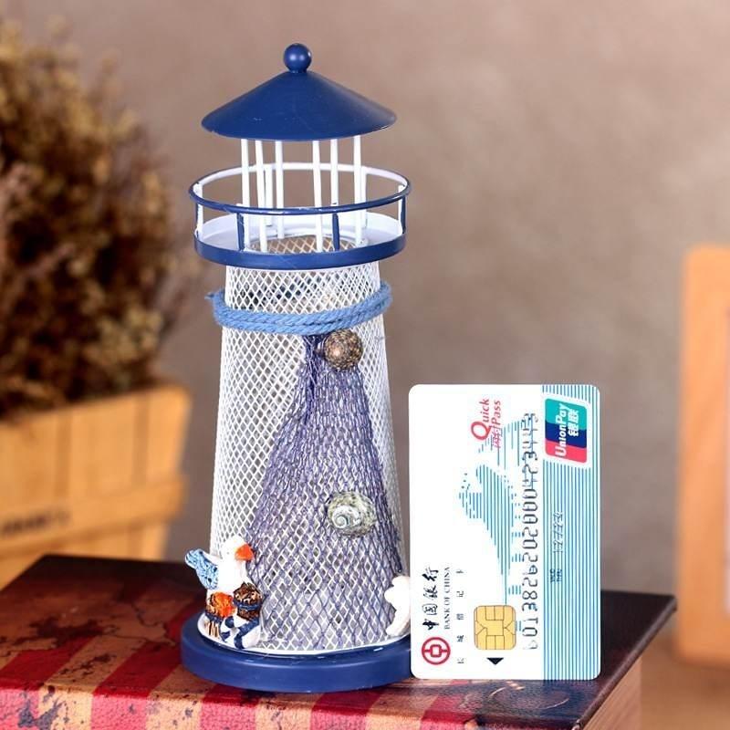Bảng giá Personalized Light House Night Light Mediterranean Lighthouse Tool Flashy LED - intl