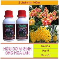 Bán Phan Bon La Sinh Học Smin Chăm Soc Hoa Lan Ra Hoa Chồi Rễ 2 Chai 100Ml Hồ Chí Minh