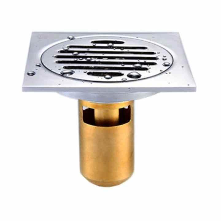 Phễu thoát sàn chống mùi hôi Zento ZT508 (Trắng)