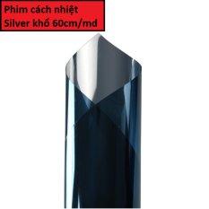 Hình ảnh Phim dán kính silver cách nhiệt, ngăn tia cực tím uv, bảo vệ kính, đảm bảo sự riêng tư - khổ 60cm/md