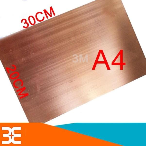 Phíp Đồng KB Khổ A4 làm mạch in thủ công