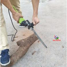 Hình ảnh Phụ kiện chuyển đổi máy mài cầm tay thành máy cưa xích đa năng Dovaco ( lá chắn sắt )