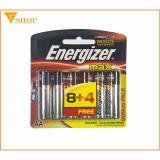 Chiết Khấu Pin Energizer Aa Vỉ 12 Vien Pin Tiểu E91 Hà Nội