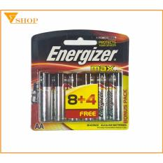 Ôn Tập Pin Energizer Aa Vỉ 12 Vien Pin Tiểu E91