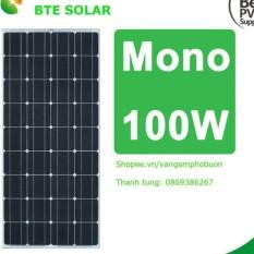 Pin mặt trời BTE Solar Mono 100w