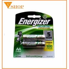 1 vỉ Pin sạc AA  Energizer 2000mah (pin sạc tiểu ) 1 vỉ 2 viên