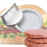 Nhựa Burger Báo Chí Hamburger Thịt Nướng BBQ Máy Làm Khuôn Mẫu TỰ LÀM Bếp-quốc tế