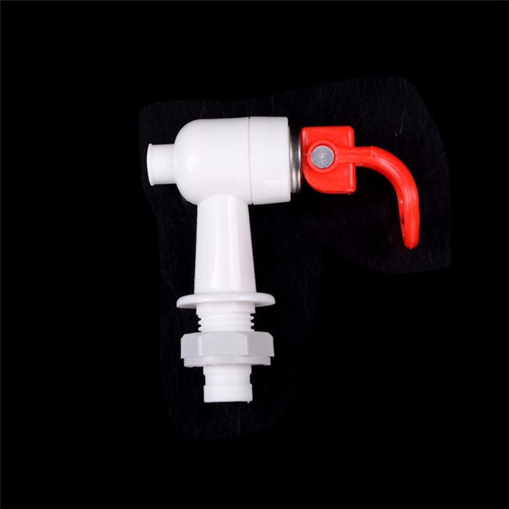 Plastic Water Dispenser Machine Faucet Tap 2 Pcs Red Blue White Red