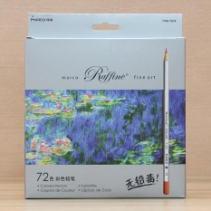 Mua Pontus Professional Fine Art Drawing 24 Assorted 3.3mm Wooden Colour Pencils with Paper Box Creative - intl