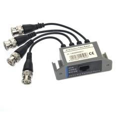 Di động 4 Kênh Video BNC sang UTP RJ45 4CH Thụ Động Video Balun Bộ Thu Phát Tín Hiệu dùng cho Camera quan sát