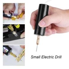 ebayst Mini di động Nhỏ Khoan Điện Micro USB kèm Mũi Khoan 3 cái Bit DC 5 v-quốc tế