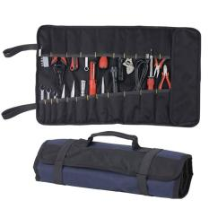 Hình ảnh Portable Oxford Chisel Roll Rolling Repairing Tool Utility Bag Multifunctional With Carrying Handles Brand New Tool Bag