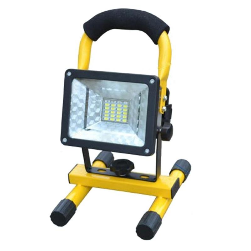 【companionship】(Giao hàng miễn phí cho cả ba chiếc đến Hà Nội)Di động Chống Nước IP65 24 ĐÈN LED Khẩn Cấp Ánh Sáng Đèn Rọi-quốc tế (Yellow)