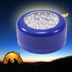 Hình ảnh Practical 24 LED Round Camping Outdoor Activities Hanging Lamp With Magnet - intl