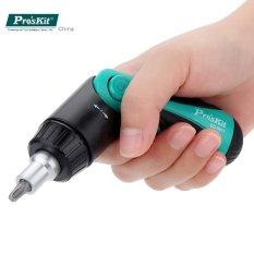 ProsKit SD-9817 Multi-functional 6 in 1 Ratchet Screwdriver Set parafusadeira Professional multi tool Hand Repair Tool Kit - intl