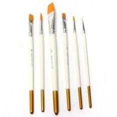 Mua Vẽ Tranh chuyên nghiệp Bộ 6 cái Cọ Vẽ Màu Dầu Acrylic Nghệ Thuật MỚI-quốc tế
