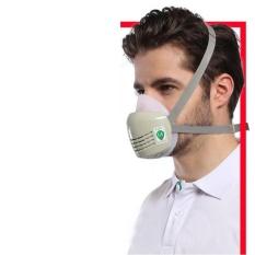 Bảo vệ Mặt Nạ Chống bụi Chống sương mù Mây Mù Xưởng Công Nghiệp Silicon Mặt Nạ Mặt Nạ Phòng Độc-quốc tế