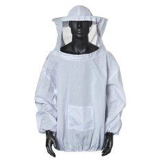 Hình ảnh Bảo vệ Nuôi Ong Áo Khoác Voan Đầm Kèm Mũ Trang Bị Cho Phù Hợp Với Smock Trắng (Quốc Tế)