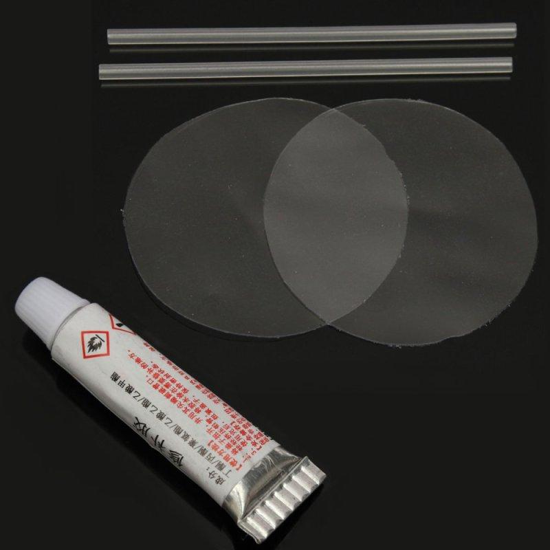 NHỰA PVC Đâm Thủng Miếng Vá Sửa Chữa Keo Bộ Bơm Hơi Đồ Chơi Bơi bể Không Giường Dinghies-quốc tế