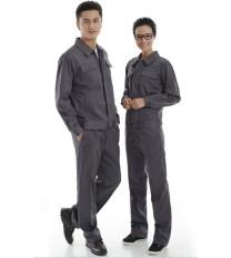 Hình ảnh Quần áo bảo hộ KaKi màu ghi xám