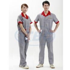 Quần áo bảo hộ TBC 07 100% cotton