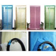Hình ảnh Rèm cửa màn chống muỗi côn trùng Kích thuoc 90x210cm(Xanh)