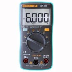 RM101 MÀN HÌNH LCD Kỹ Thuật Số Đồng Hồ Đo Đồng Hồ Vạn Năng Khuếch AC DC Ohmmeter-intl