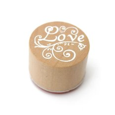 Mua Round Wooden Friendship Seal Rubber Stamp - intl
