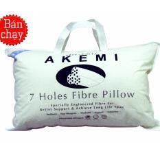 Ruột Gối Nằm Akemi 7 Holes 9557108047082 Trắng Nguyên