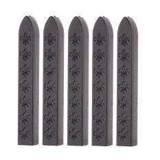 Mua Sales New Sunwonder 5Pcs Flower Manuscript Seal Wax Sticks Sealing Wax For Postage Letter Seal Stamp(Black)