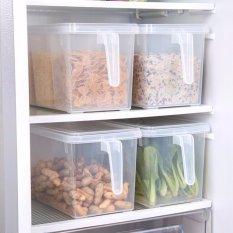 Chiết Khấu Set 3 Hộp Bảo Quản Thức Ăn Tủ Lạnh Co Tay Cầm Có Thương Hiệu