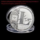 Mạ Bạc 25 Litecoin Đồng Tiền Vires Trong Numeris Đồng Tiền Kỷ Niệm Bộ Sưu Tập Quốc Tế Not Specified Chiết Khấu 40