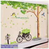 Bán Size Lớn Decal Dan Tường Big Tree Hpm1098 Flowerdecal Có Thương Hiệu Nguyên