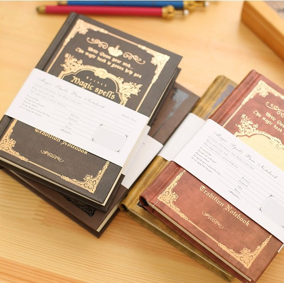 Mua Túi nhỏ Vở Cổ Điển Handcover Magic Phép Thuật Túi Sách Hoạch Tạp Chí Lữ Khách Notepad-quốc tế