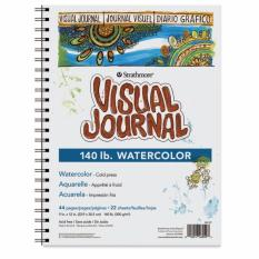 Mua Sổ vẽ Strathmore Visual Journal -Watercolor 300gsm - Khổ A5