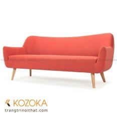Cửa Hàng Sofa Gỗ Bọc Vải Norma Hồng Cam Kozoka Việt Nam